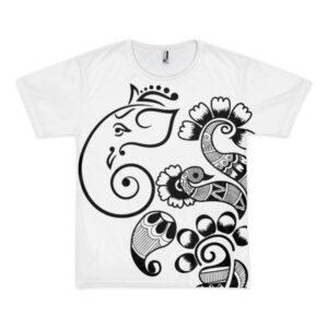 Ganesha Art - Short sleeve men's t-shirt (unisex)