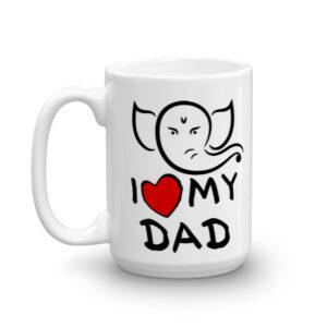 Ganesh - I LOVE MY DAD CHAI MUG