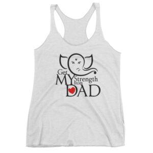 My Dad My Strength - Women's tank top