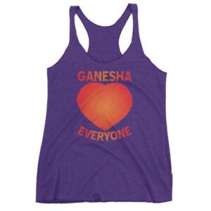 GANESH LOVES EVERYONE Women's tank top