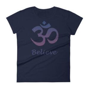 OM BELIVE Women's short sleeve t-shirt