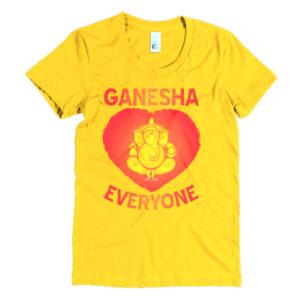 GANESH HEART EVERYONE Women's short sleeve t-shirt