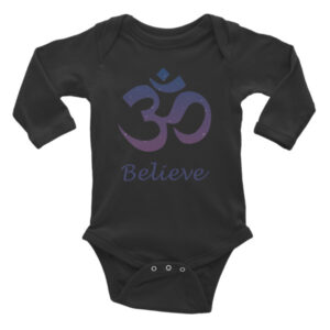 GANESH - BELIEVE Infant Long Sleeve Bodysuit