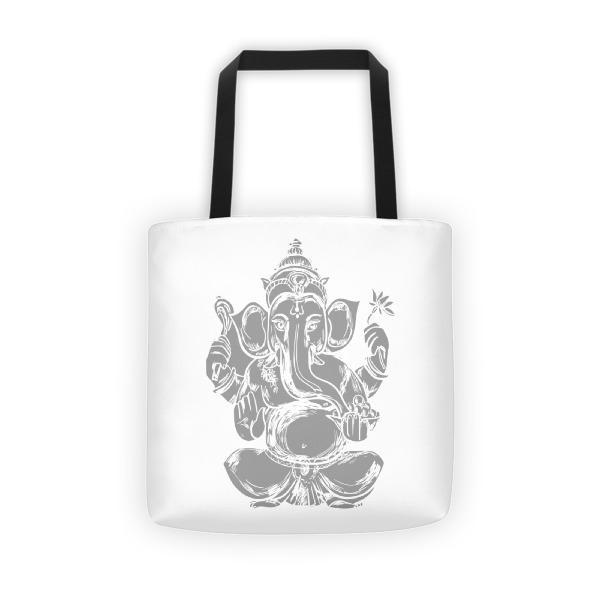 Ganesha Greyscale Tote bag
