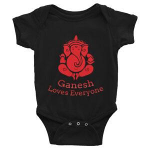 GANESH LOVES EVERYONE Infant Bodysuit