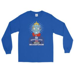 108 GANESH CHICAGO CHAMPIONS - GUPTA Long Sleeve T-Shirt