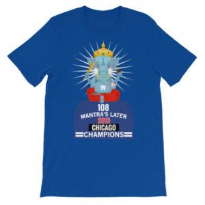 Blue 108 Chicago Champions Patel - Unisex short sleeve t-shirt