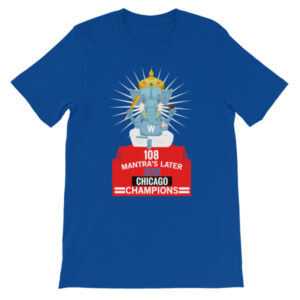 108 Chicago Champions - Zaveri Unisex short sleeve t-shirt