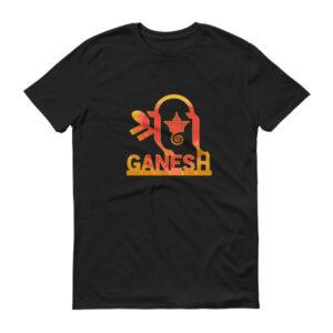 Shri Ganesh Short sleeve t-shirt - dark